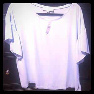Loft short sleeved blouse